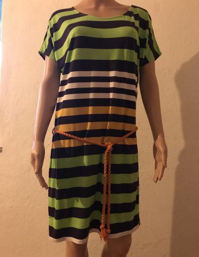 geigenberg - Jerseykleid mit streifen